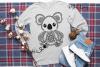 Koala SVG / PNG / EPS / DXF Files example image 3