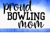 Bowling Mom SVG, Sports SVG example image 1