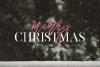 Magic Winter - A Serif/Script Handwritten Font Duo example image 4