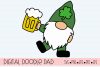 St. Patrick's Day SVG, Leprechaun Gnomes Cut Files example image 2