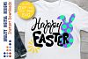 Happy Easter svg Bunny clipart Cut Files example image 1