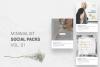 Minimalist Social Packs example image 2