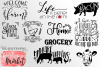 BUNDLE 10 Farm Craft Designs SVG DXF EPS PNG example image 2