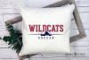 Wildcat, Soccer, Sports, Team, logo, PRINT, CUT & DESIGN example image 3