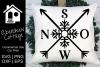 Snow Arrow Design example image 1