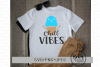 Chill Vibes Summer Svg Cut File example image 1