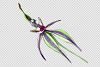 Wild orchid Watercolor png example image 2