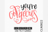 Hand Lettered- You're Gorgeous example image 1