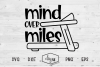 Mind Over Miles - A Fitness SVG Cut File example image 2