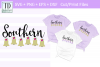 Southern Belles Cut or Print File, A Friends or Bridal SVG example image 1