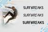 Surf Breaks - Font Family & Bonus example image 2