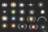 30 Christmas Photo overlays, photoshop overlays, Lamp light example image 7
