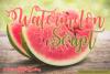 Watermelon Script example image 1
