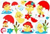 Rainy Day Ducks graphic, illustration, Clipart pack AMB-1823 example image 5