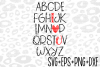 ABC Svg - SVG- Cricut File- Cameo File- Cut File- Vector example image 1