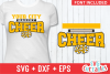 Cheer Template 0020, SVG Cut File example image 1