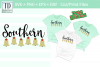 Southern Belles Christmas Style! Bridal Friends Cut / Print example image 1