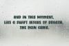 Boyish & Weird, a strange capitals font example image 3
