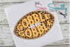 Thanksgiving Turkey Football Sketch Applique Embroidery example image 1