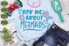 Ask Me About Mermaids SVG example image 3