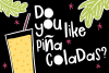 Piña Colada Font example image 2