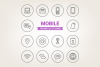 Circle Mobile Icons example image 1