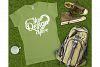 Gildan 64000L Ladies T-Shirt Camping Mockup Bundle Flat Lay example image 6