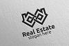 Real Estate Infinity Logo Design 35 example image 4