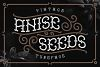 Anise Seeds typeface example image 1