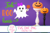 Fab Boo Lous SVG, Halloween Girl SVG, Bow, Ghost, Girl, Baby example image 2