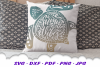 Palm Beach Summer Vibes Turtle SVG DXF Cut Files Bundle example image 4