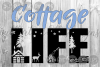Cottage Life, Cabin, Nature, Outdoors, Cut File, SVG example image 1
