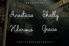 The Grateful Script | 4 Fonts example image 3