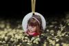 Christmas Ornament Mockup, Gold Sparkles, Smart Object & JPG example image 2