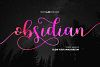 Obsidian (INTRO -30%) example image 1