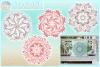 Hand Drawn Mandala Zentangle Bundle SVG Dxf Eps Png PDF example image 1