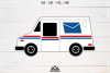 Mail Truck Svg Design example image 2
