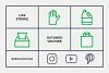 Waste Recycling Line Icons example image 6