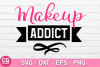 Makeup addict SVG example image 1