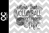 Livin' That Volleyball Mom Life SVG,JPG,PNG,DXF example image 2