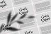 Washington - A Handwritten SVG Script Font example image 18