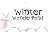 Winter Wonderland - A Fun Handwritten Font example image 1