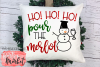 Ho! Ho! Ho! Pour the Merlot SVG DXF EPS PNG example image 3