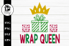 Wrap Queen 3 SVG | PNG | DXF | EPS example image 2