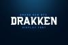 DRAKKEN EXCLUSIVE DISPLAY FONT example image 1