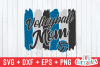 Volleyball Mom   Volleyball svg Cut File example image 2