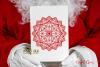 Mandala & split mandala foil quill / sketch single line file example image 3