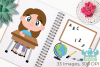School Clipart, Instant Download Vector Art, Commercial Use example image 3