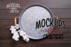 Round Metal Tray Mock-Up - Dollarama example image 1