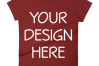 Anvil 880 Ladies Fit T-Shirt Mockups - 17 | PNG|3000x3000px example image 10